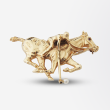 Load image into Gallery viewer, 14kt Gold Polo Player Pin