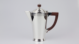 Art Deco Sterling Silver Tea & Coffee Set - The Antique Guild