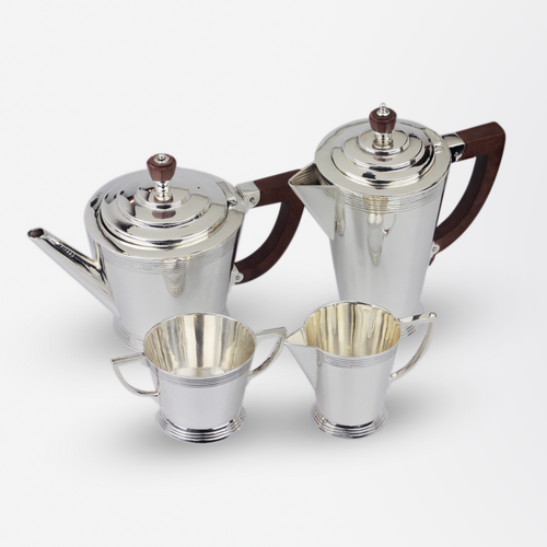Art Deco Sterling Silver Tea & Coffee Set