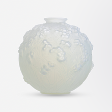 Load image into Gallery viewer, 1920s Signed 'Druides' Blowout Glass Vase by R. Lalique