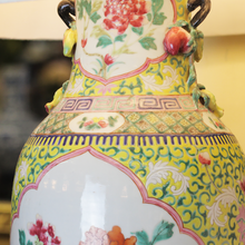 Load image into Gallery viewer, Chinese Baluster Vase Lamp