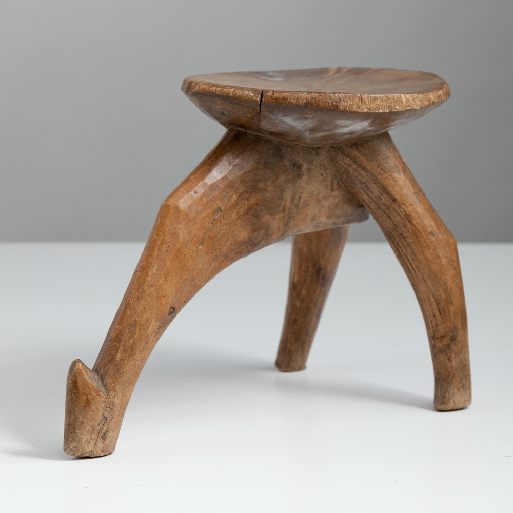Carved Stool by the Lobi People - The Antique Guild