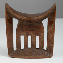 Load image into Gallery viewer, Carved Wood Headrest by the Kambatta or Arussi Culture - The Antique Guild