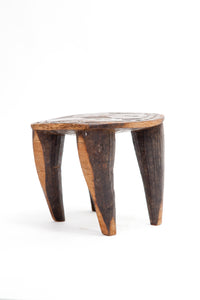 Carved Stool by the Nupe People of Nigeria - The Antique Guild