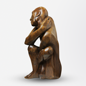 Carved Timber Figure