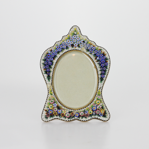Micromosaic Picture Frame - The Antique Guild