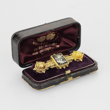 Load image into Gallery viewer, Boxed Victorian Micromosaic Brooch - The Antique Guild