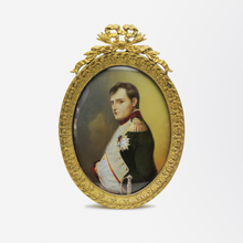 Load image into Gallery viewer, French Miniature Portrait of Napoleon