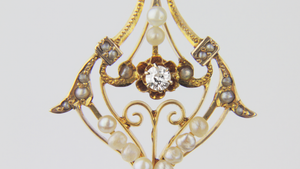 Victorian Lavalier Necklace - The Antique Guild