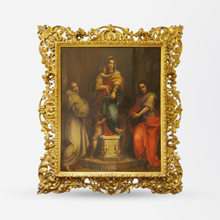 Load image into Gallery viewer, 19th Century Madonna delle Arpie Oil Reproduction