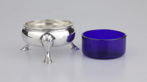 Pair of Georgian Silver Salt Cellars