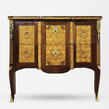 Load image into Gallery viewer, Louis XVI Mahogany, Parquetry Kingwood and Ebony Commode