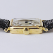 Load image into Gallery viewer, Cushion Shaped, Art Deco, 18kt Gold Patek Philippe Wristwatch