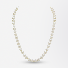 Load image into Gallery viewer, Akoya Pearl Necklace