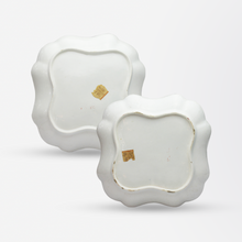 Load image into Gallery viewer, Pair of Early Worcester Fluted Dishes
