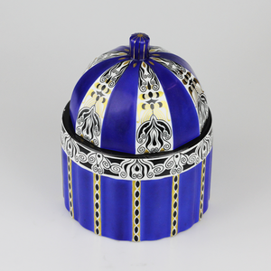 Lidded Porcelain Jar by Fraureuth