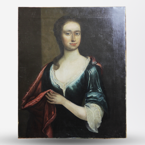 Unframed Portrait of Young Woman - The Antique Guild