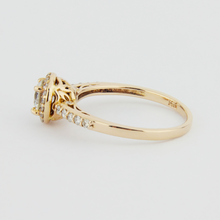 Load image into Gallery viewer, 14k Rose Gold Diamond Ring
