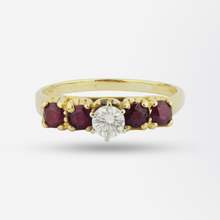 Load image into Gallery viewer, Ruby & Diamond Ring