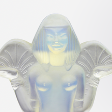 Load image into Gallery viewer, Sabino Opalescent Glass Figure L'Egyptienne