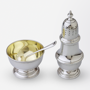 Tiffany & Co. Pepperette & Salt Cellar