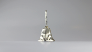 Small Sterling Silver Bell by Sanborns - The Antique Guild