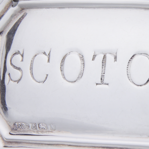 "Sterling ""Scotch"" Decanter Tag"
