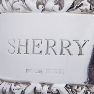 "Sterling ""Sherry"" Decanter Tag"