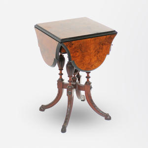 19th Century Victorian Envelope Table