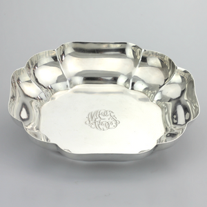 Sterling Silver Lobed Bowl - The Antique Guild