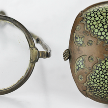 Load image into Gallery viewer, Chinese Spectacles in Shagreen Leather Case - The Antique Guild
