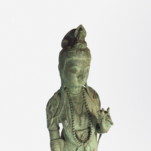 Load image into Gallery viewer, 19th Century Bronze Guanyin Statue