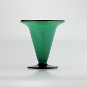 Art Deco Tango Glass Vase in the Ikora Range by W.M.F - The Antique Guild