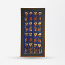 Load image into Gallery viewer, Early 20th Century Hand-Woven Beaded Panel by the Yoruba People