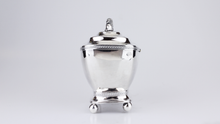 Load image into Gallery viewer, Dutch Neoclassical Silver Tea Caddy - The Antique Guild