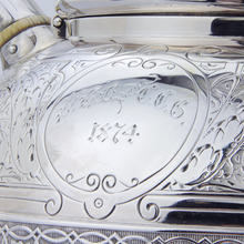 Load image into Gallery viewer, Sterling Silver Tiffany & Co. Tea Set Circa 1870