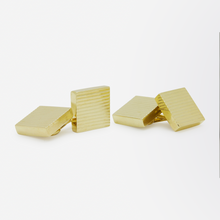 Load image into Gallery viewer, 14kt Yellow Gold, Mid Century Cufflinks by Tiffany and Co.