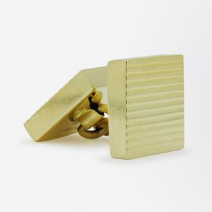 14kt Yellow Gold, Mid Century Cufflinks by Tiffany and Co.