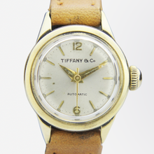 Load image into Gallery viewer, Ladies 14kt Yellow Gold Automatic Wristwatch by Tiffany & Co.