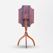 Load image into Gallery viewer, Mahogany Tilt Top Georgian Candle Stand