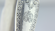 Load image into Gallery viewer, Sterling Silver Asparagus Tongs - The Antique Guild