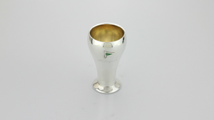 Sterling and Enamel Swedish Trophy - The Antique Guild