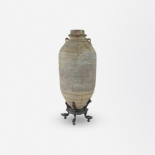 Load image into Gallery viewer, Warring States Hand Turned Stoneware Vase