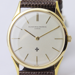 18kt Gold Ultra Thin Wristwatch by Vacheron & Constantin