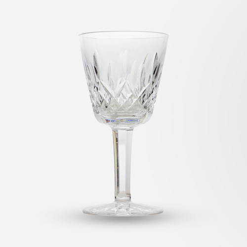 Set of Six Waterford Wine Glasses in the Lismore Pattern