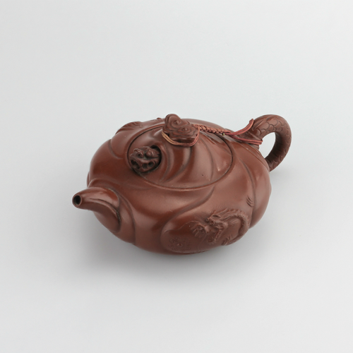 20th Century Japanese Tokoname Ware Novelty Dragon Teapot - The Antique Guild