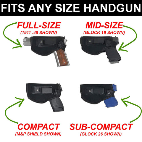 TrueFIT™ Universal Concealed Carry Holster