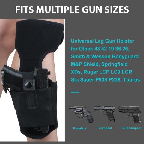 9mm Concealed Ankle Gun Holster NEW Ruger LC9S