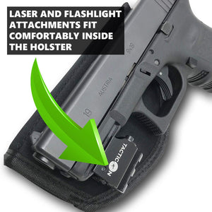 universal holster with light