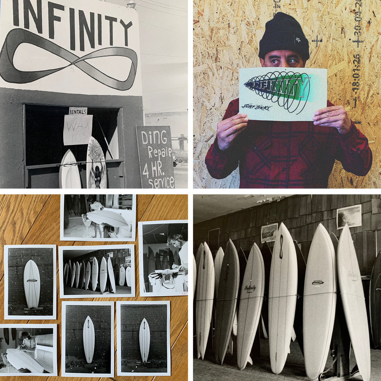 Infinity Surf 50 years of Shred
